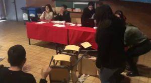 Atina Politeknik Üniversitesinde Halk Cephesi Söyleşisi