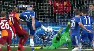 Galatasaray 0-2 Chelsea Maç özeti 19.03.2014