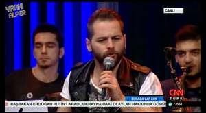 Yankı Alper CNN Türk'de Mesut Yar'ın Konuğu