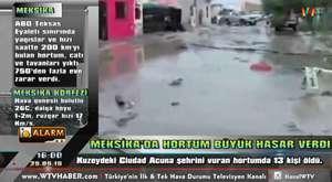 KanalW-TV ALARM: Balıkesir Fırtına (Deniz Taşkını) 12.02.2015