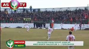 Amed Sportif 2 - 1 Sivas Belediyespor (Geniş Maç Özeti)
