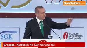Erdoğan_ Kardeşim Ne Kürt Sorunu Ya!
