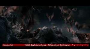 Hobbit Beş Ordunun Savaşı - Türkçe Altyazılı Son Fragman