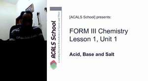 ACALS School Form I Physics Lesson 1-part 1