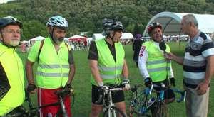 Bisiklet sevdalılarıyla Kırkpınar'a destek