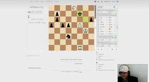 Fischer_K_A VS Stockfish level 8 (2500)