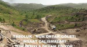 Taşoluk Nuh Ortak Göleti Yapım Çalışmaları