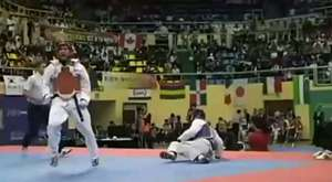 Taekwondo Dans Gösterisi