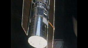 Space-Station Fisheye Fly Through 4K Ultra-HD
