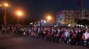 Akhisar demokrasi nöbeti 21. gün
