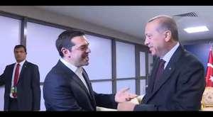 Erdoğan`dan Çipras`a: Kravat nerede?