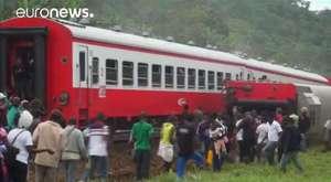Kamerun'da tren kazası: 55 ölü, yaklaşık 600 yaralı