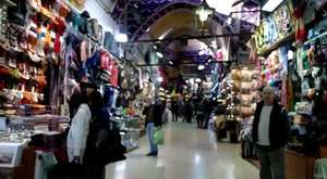 The world famous Grand Bazaar, Istanbul (Turkey)