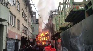 Bursa'da tüp deposunda patlama