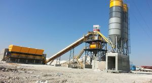 ins makina twin shaft mixers - concrete batching plants