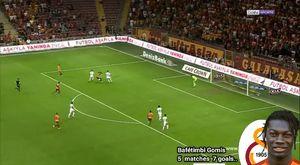 Bafetimbi Gomis Galatasaray`daki Tüm golleri 2017/18 l Gol sevinçleri HD