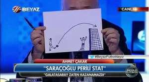 Fenerbahçe'nin Stadında Periler Büyü Yapıyor - Ahmet Çakar
