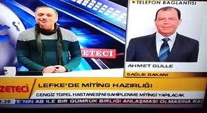 KTV - Gün'e Bakış - Lefke Çevre Tanıtma Derneği Başkanı Ahmet Hızlı 26_11_13