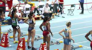after 4x400 relay happy women