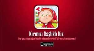 Kırmızı Başlıklı Kız İnteraktif Masal Uygulaması