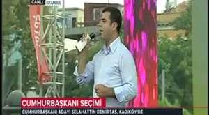 Selahattin Demirtaş - TRT Propaganda Konuşması (03.08.2014)