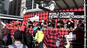 World Poutine Eating Championship 2014