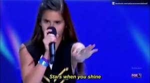 Küçük Kızdan İnanılmaz Ses