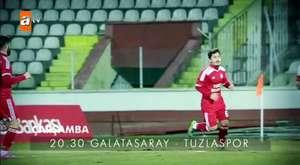 Galatasaray - Tuzlaspor Çarşamba 20.30`da atv`de! - atv