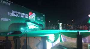 Çimlerin 6'da 1 Timsah Arena'ya serildi.