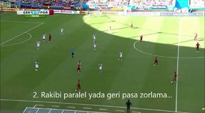 Futbolda geçiş anı ( Transation time in football )