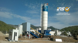 ins machinery twin shaft concrete mixers.