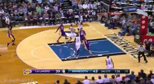 Kobe Over Wiggins | Lakers vs Timberwolves | December 9, 2015 | NBA 2015-16 Season