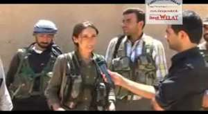 Rojava dan catisma goruntuler 2
