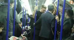 Metro taciz - Metro abuse - Sosyal deney Metroda Tacize Uğrayan Kadın