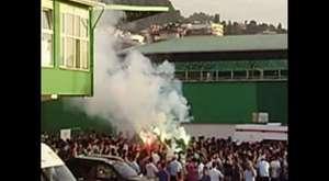 Yeşil Giresun Belediyespor - Trabzonspor (Polis kamerasından olaylar)