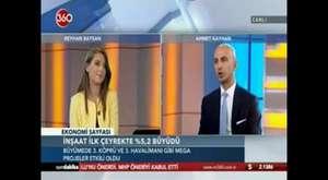 REIDIN CEO'su Ahmet Kayhan'ın NTV  Ekonomi Notları programı canlı yayını