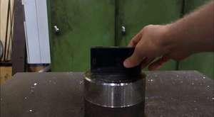 Hidrolik Preste Kağıdı 7 Kat Katlamak