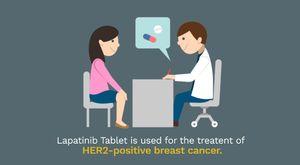 Lapatinib Brands in India | Buy Lapatinib 250 mg - Breast Cancer Medicine Online