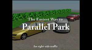 Parallel parking lesson