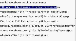 AlsancakTim Sucker Burn Facebook Account Hack