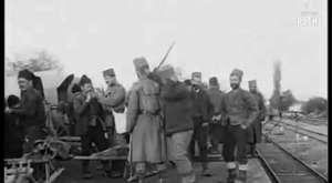 1912 yılında şakalaşan Osmanlı askerleri