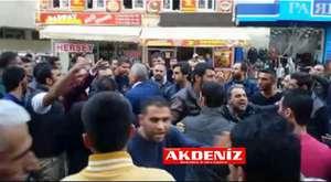 Tarsus'ta Tahir Elçi eylemi, tartışma çıktı